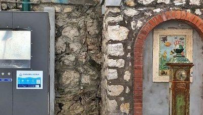Inaugurazione Fontanelli Isola di Capri