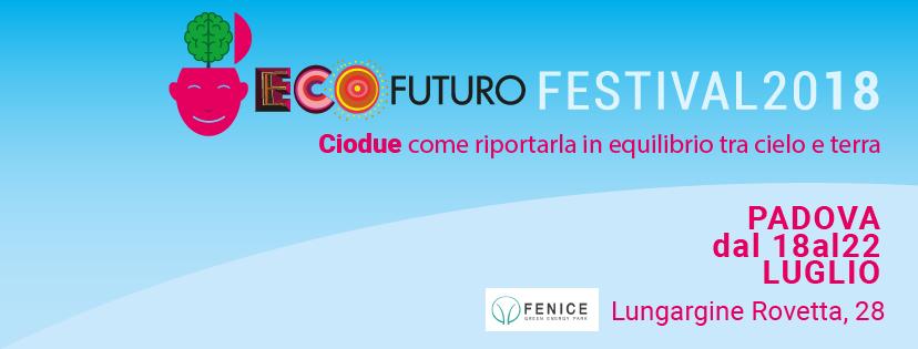 Vi aspettiamo al Festival EcoFuturo!!!!